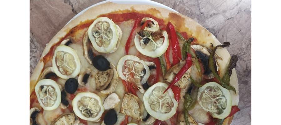 hacer masa de pizza