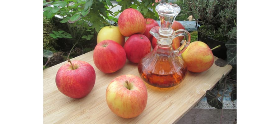 Propiedades del vinagre de manzana
