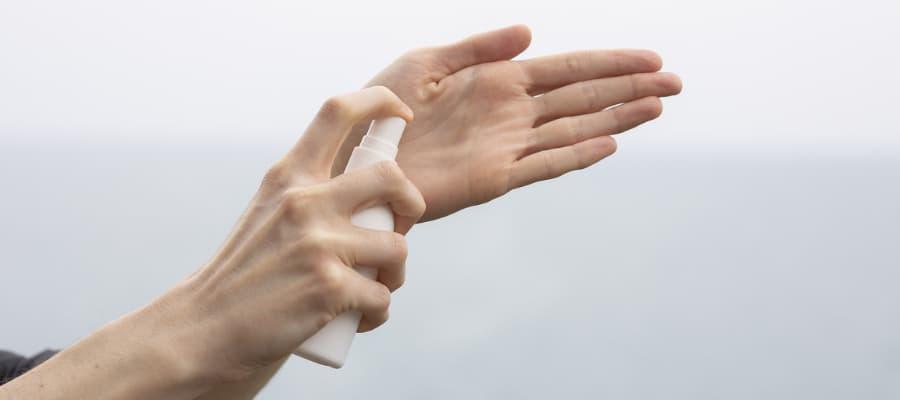 gel antiseptico manos