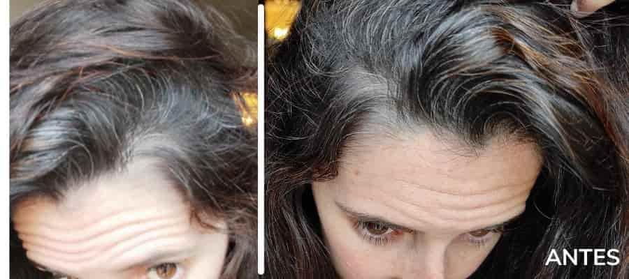 gena para pintar el cabello
