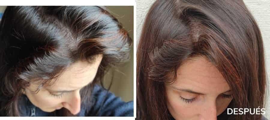 pintar el pelo con henna